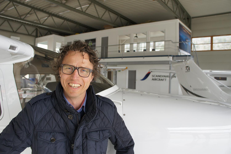 flysalg scandinavian aircraft